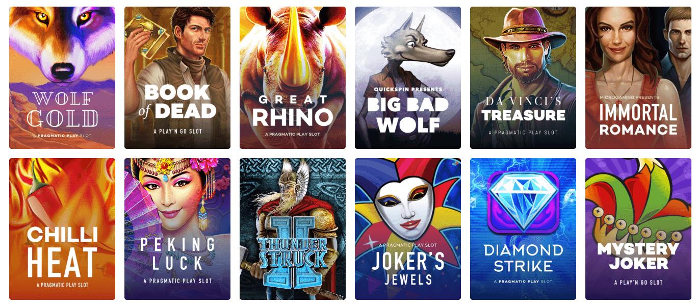 Best mobile slot sites