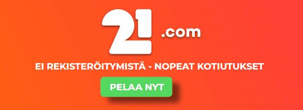21.com uutinen - Pidä hauskaa 21.com kasinolla