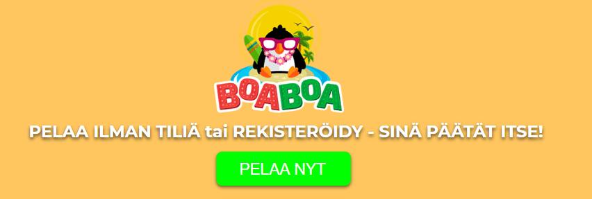 boa boa kasino pelaa ilman tiliä