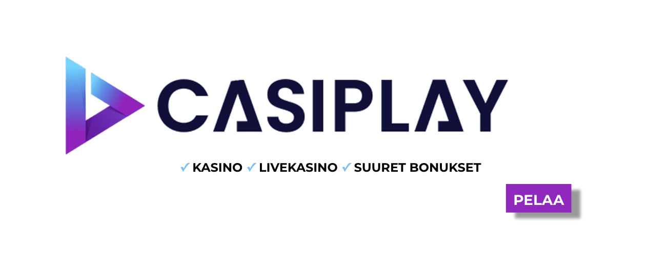 Casiplay pelivalikoima - Casiplay