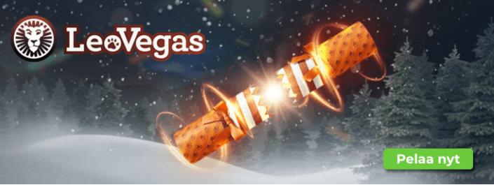 Jouluyllatyksia leovegasilla - LeoVegasin jouluyllätykset