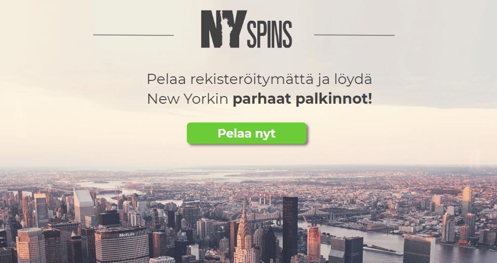 NYspins bonukset - Avokätisiä tarjouksia Kauppatorilta