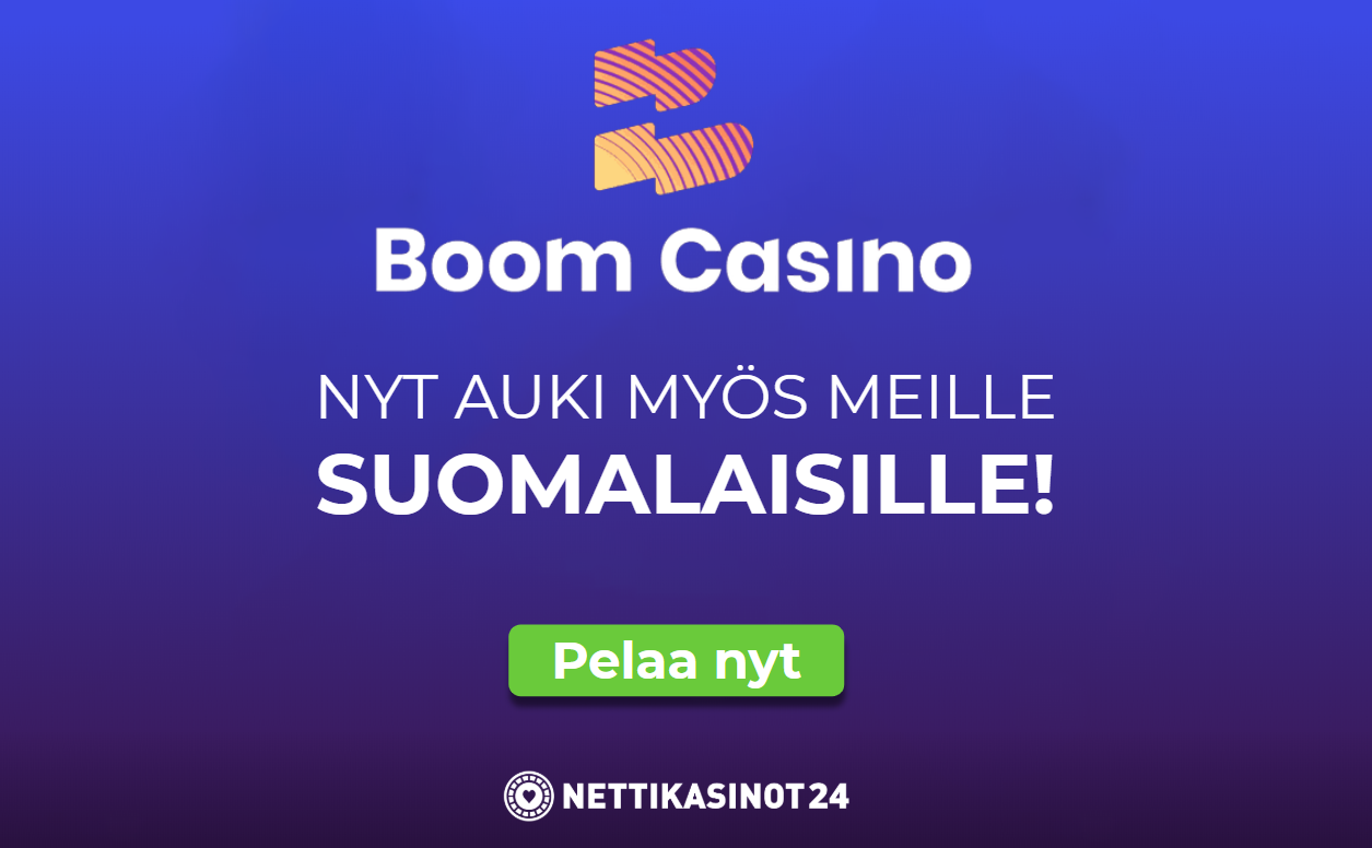 boom casino auki - Lunasta bonuskierroksia tai talletusbonus!