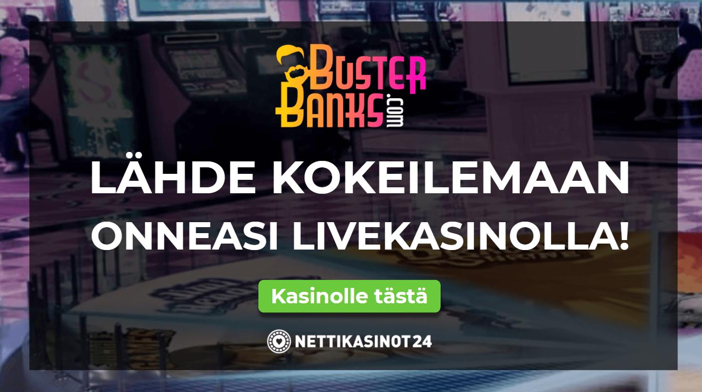 busterbanks livekasino - Virtuaalitodellisuus nettikasinoilla