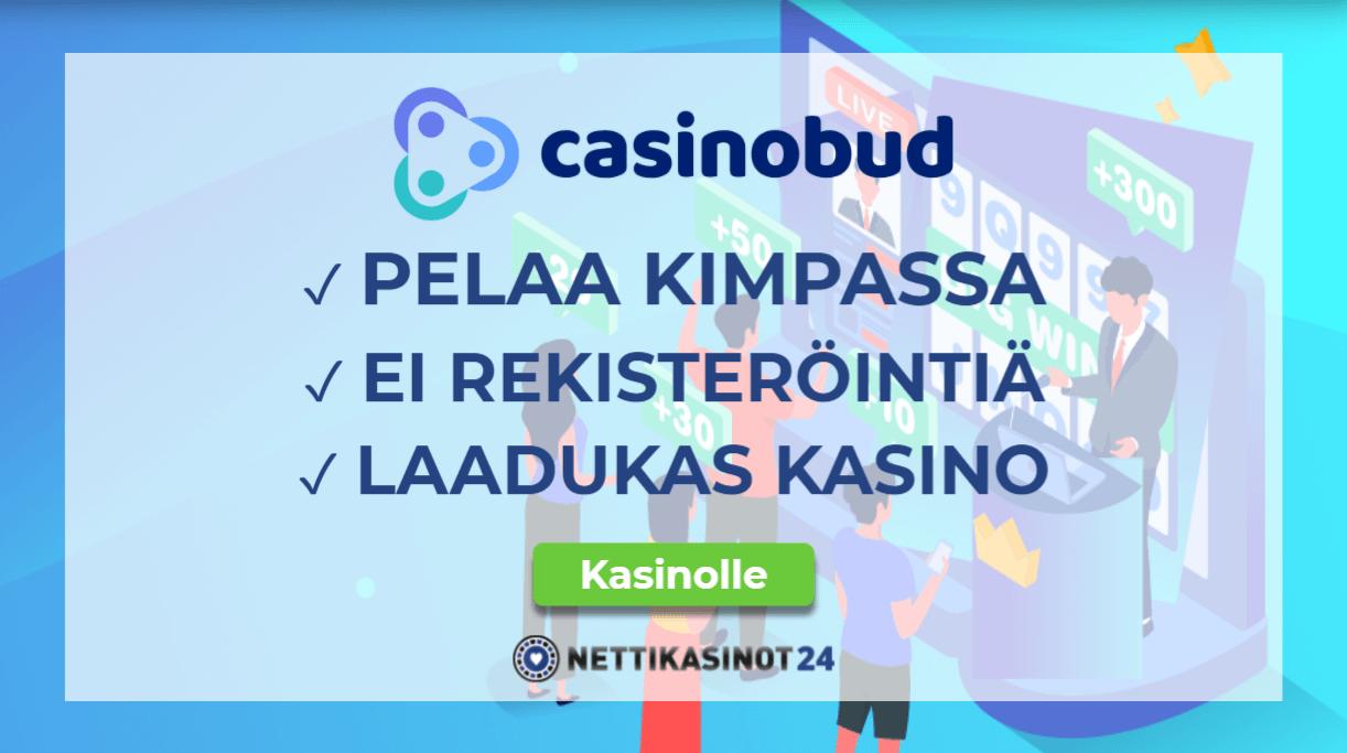casinobud kasino kokemuksia