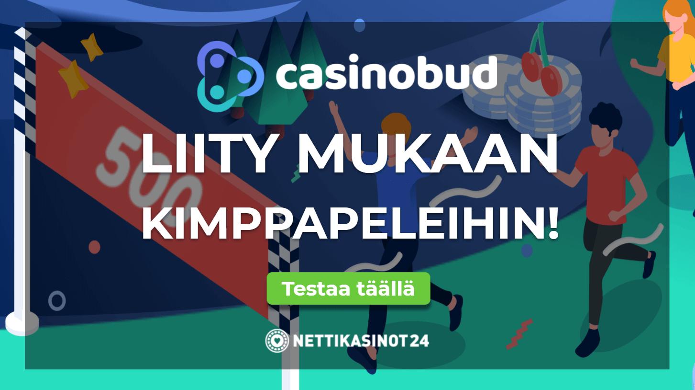 casinobud uutinen - Kokeile sosiaalista pelaamista Casinobud kasinolla