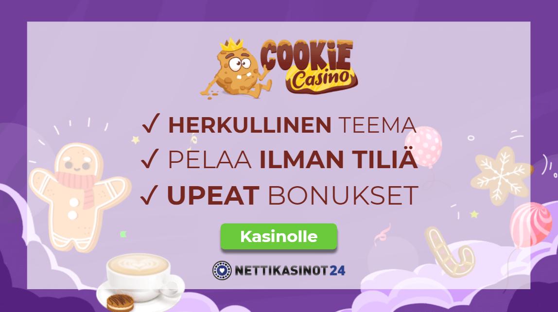 cookie casino arvostelu