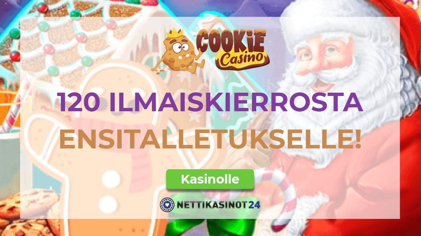 cookie casino uutinen netti - Koko kasino täynnä ilmaiskierroksia!