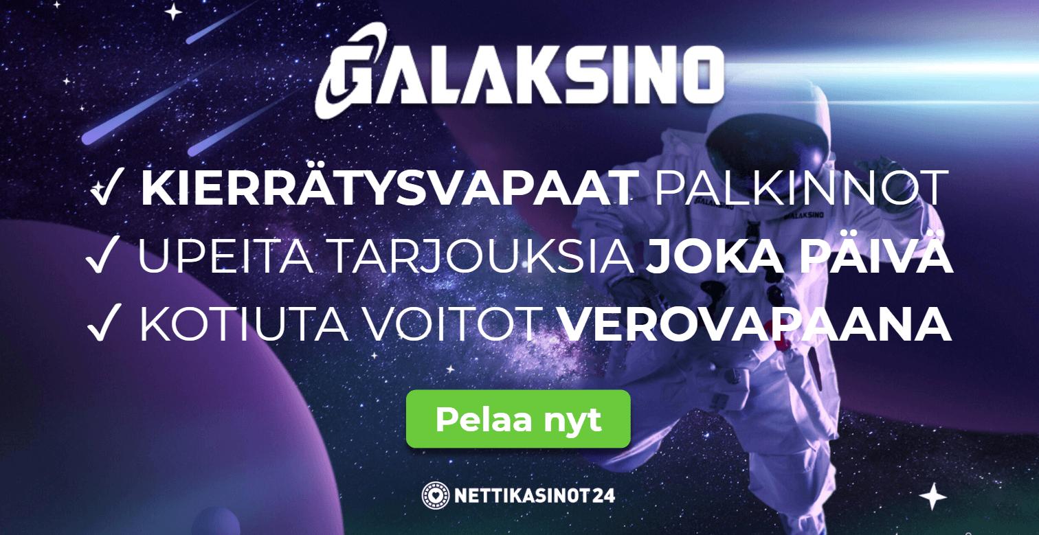 galaksino arvostelu - Galaksino Kasino