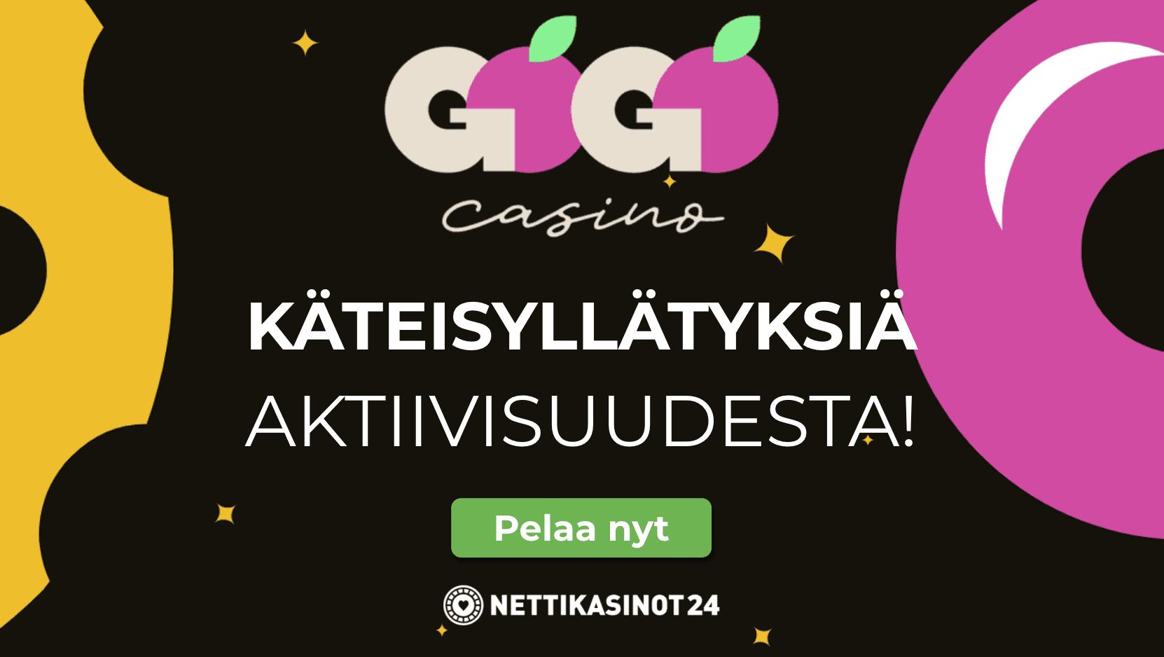 gogo casino cashdrop - Yllätyspalkintoja lojaalisille pelaajille