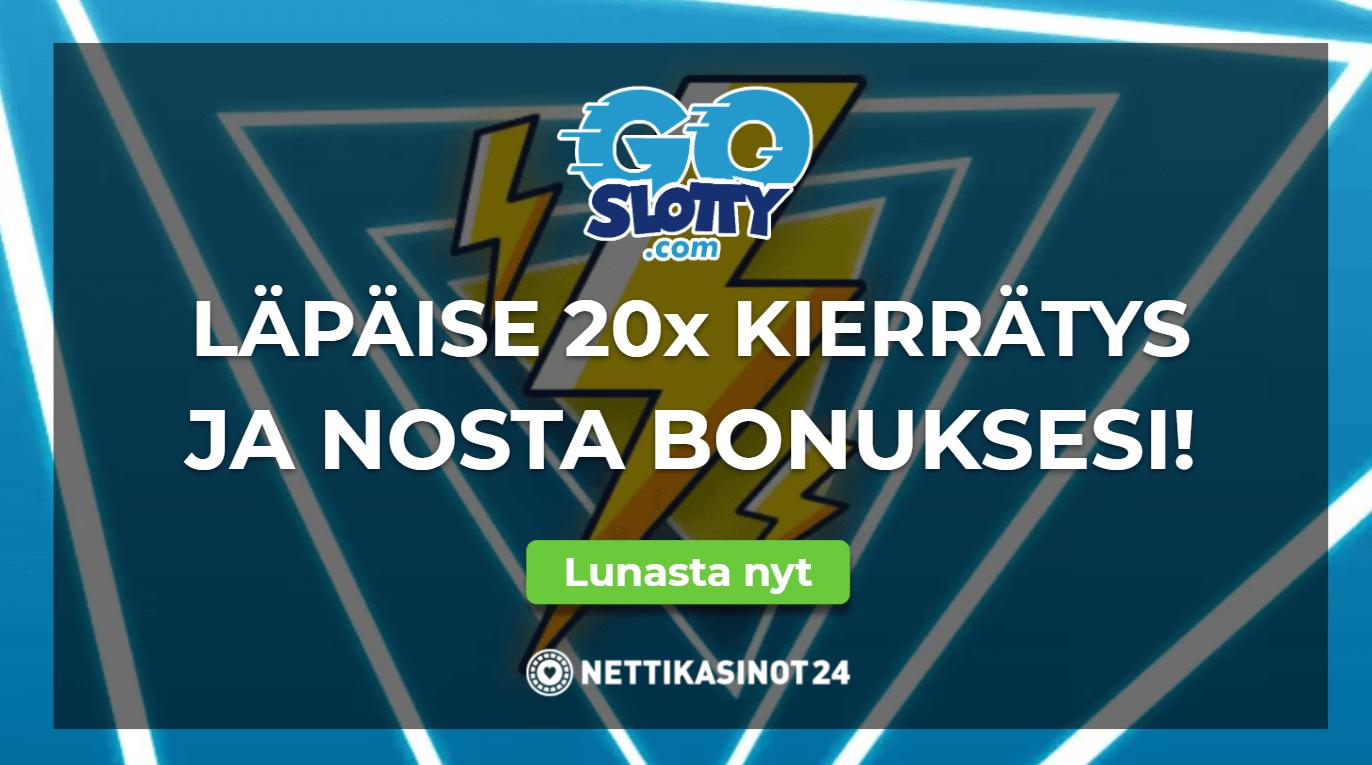 goslotty erikoistarjous bonus - Lunasta uusi 500% erikoistarjous