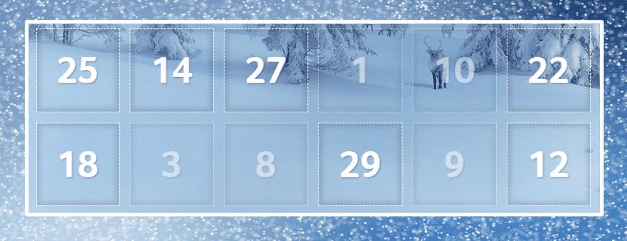 joulukalenteri - Parhaat joulukalenterit