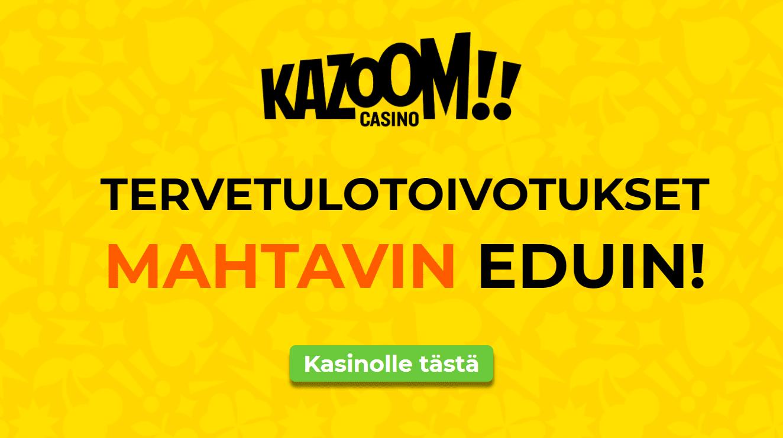 kazoom kasino uutinen - Tätä bonusta olemme odottaneet