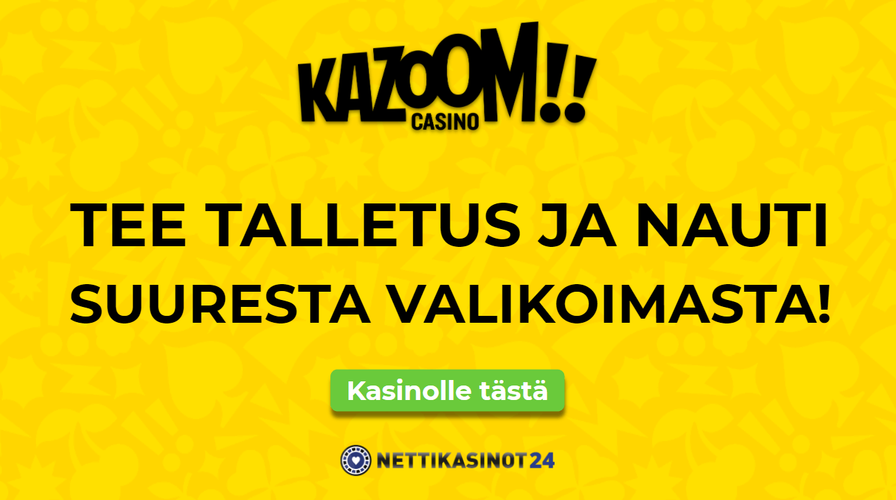 kazoom uutinen - Oletko jo testannut tätä kasinoa?