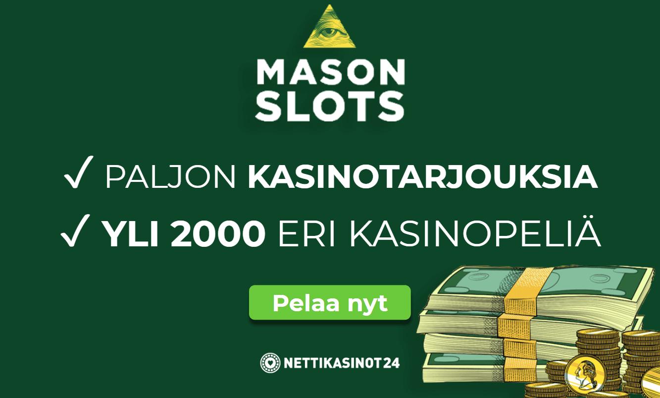 masonslots mahtavat kasinokampanjat - Mason Slots
