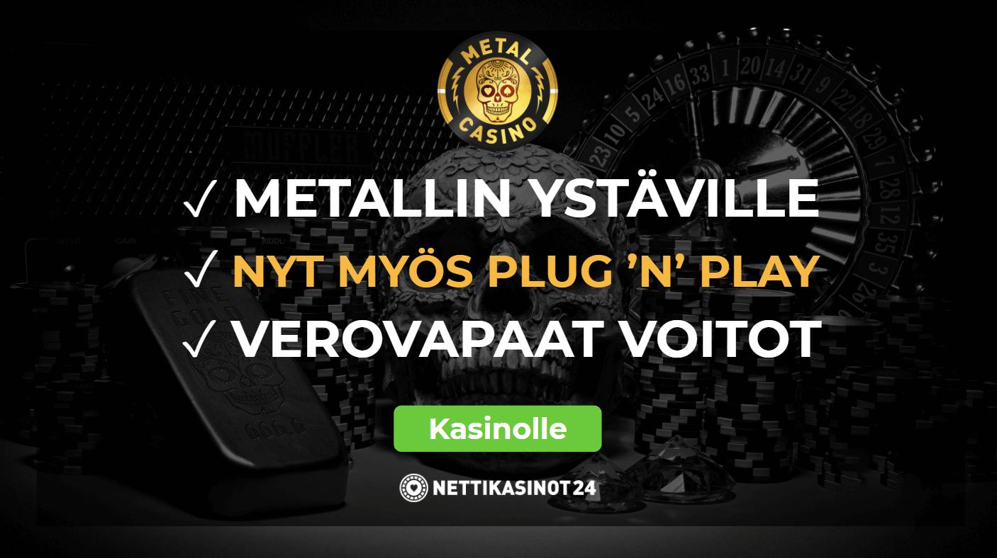metal casino arvostelu - Metal Casino