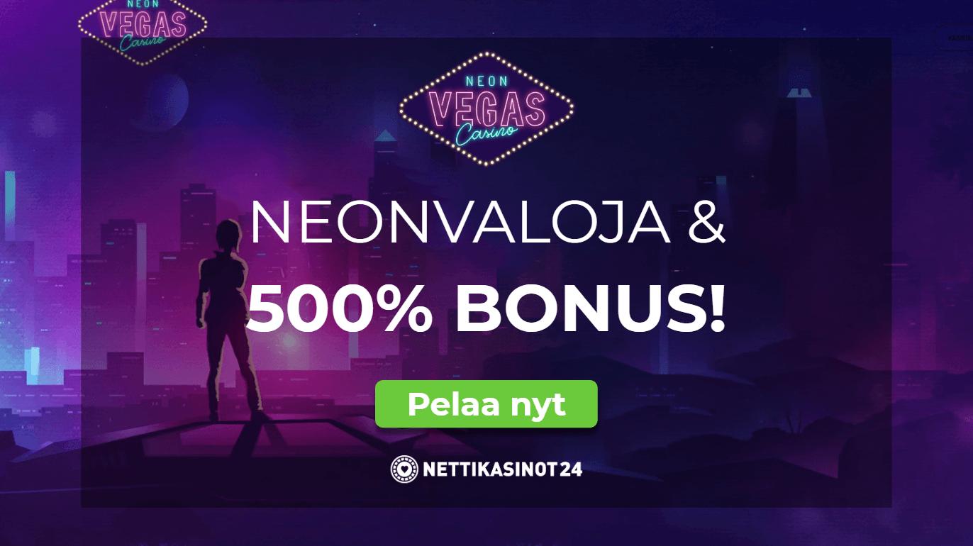 neonvegas bonus - Nappaa bonuskoodi 500% bonukselle!