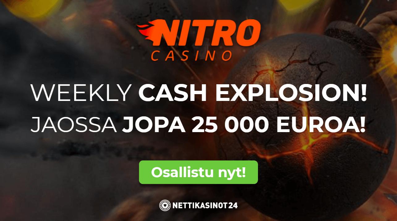 nitro casinon kateiskisa - Starttaa kesä käteiskisalla!