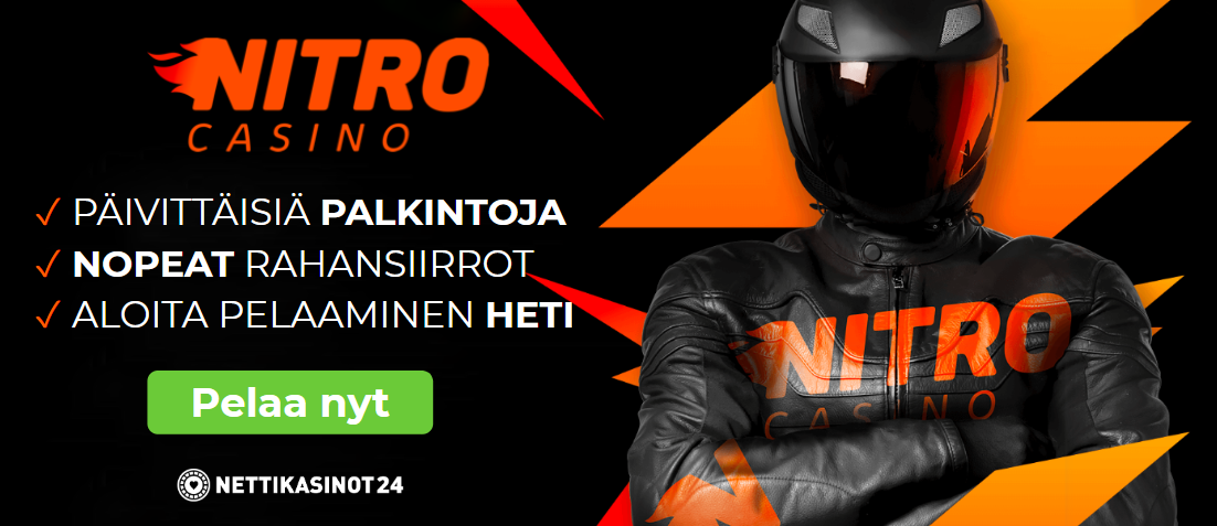 nitrocasino mobiili - Nitro Casino