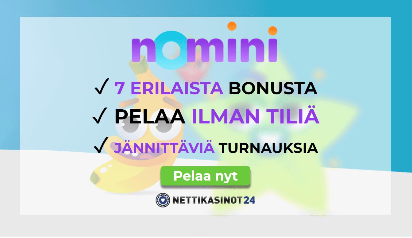 nomini casino arvostelu - Nomini Casino