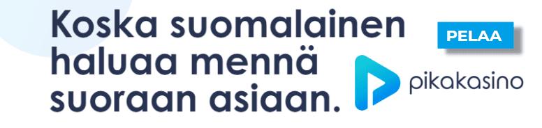 pika koska suomalainen haluaa mennä suoraan asiaan - Haastattelussa Pikakasino