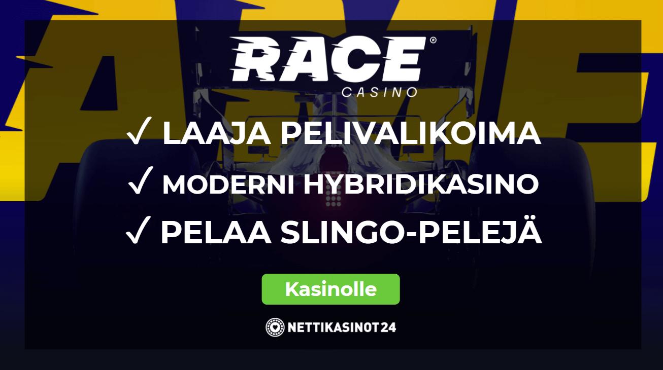 race kasino arvostelu - Race Kasino