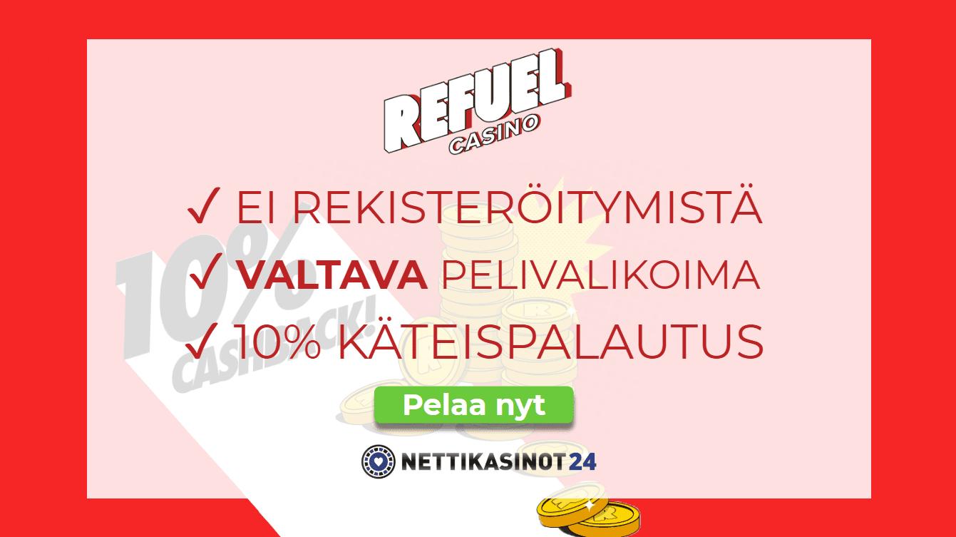 refuel casino arvostelu - Refuel Casino