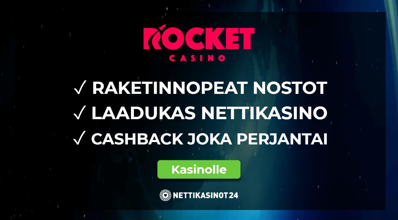 rocket casino kokemuksia