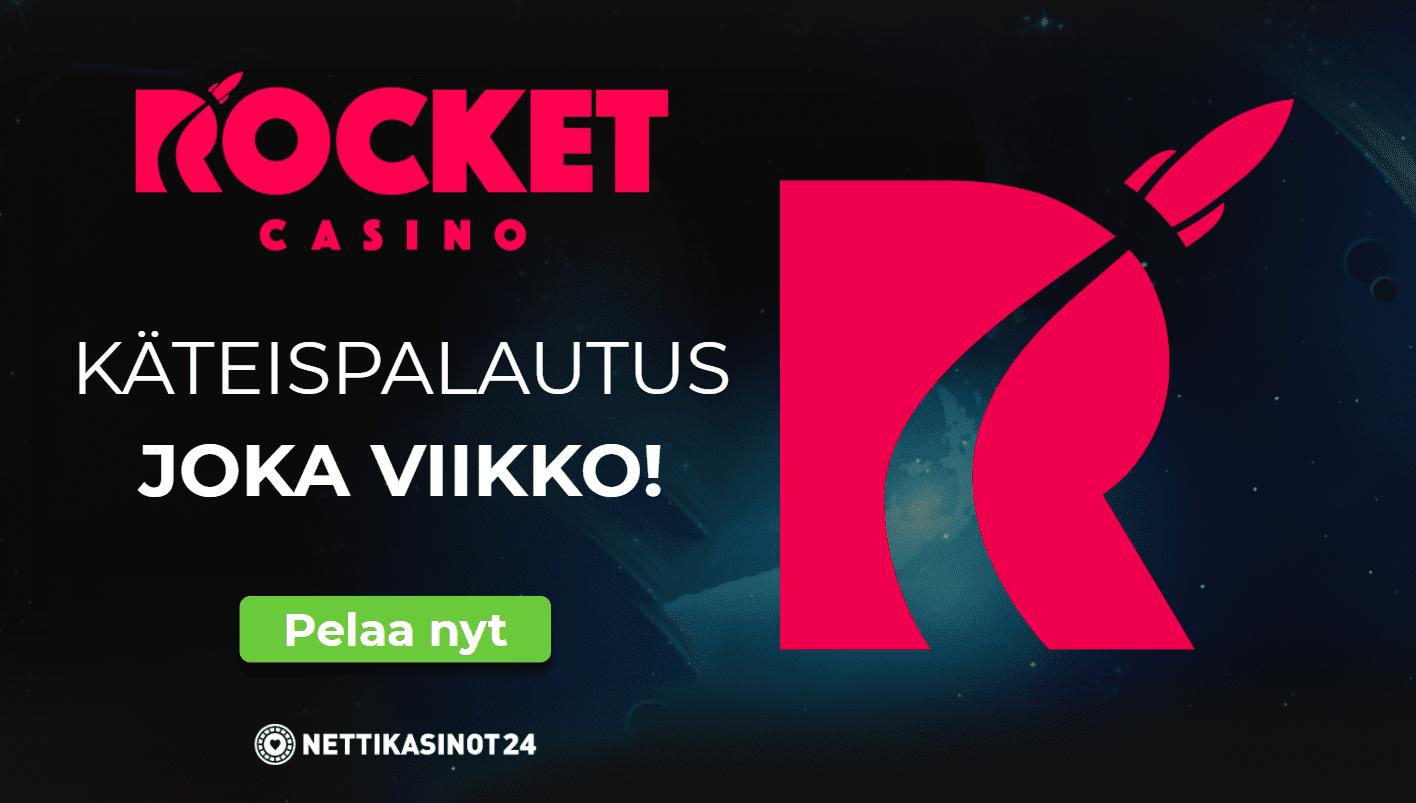 rocket casino kampanjat