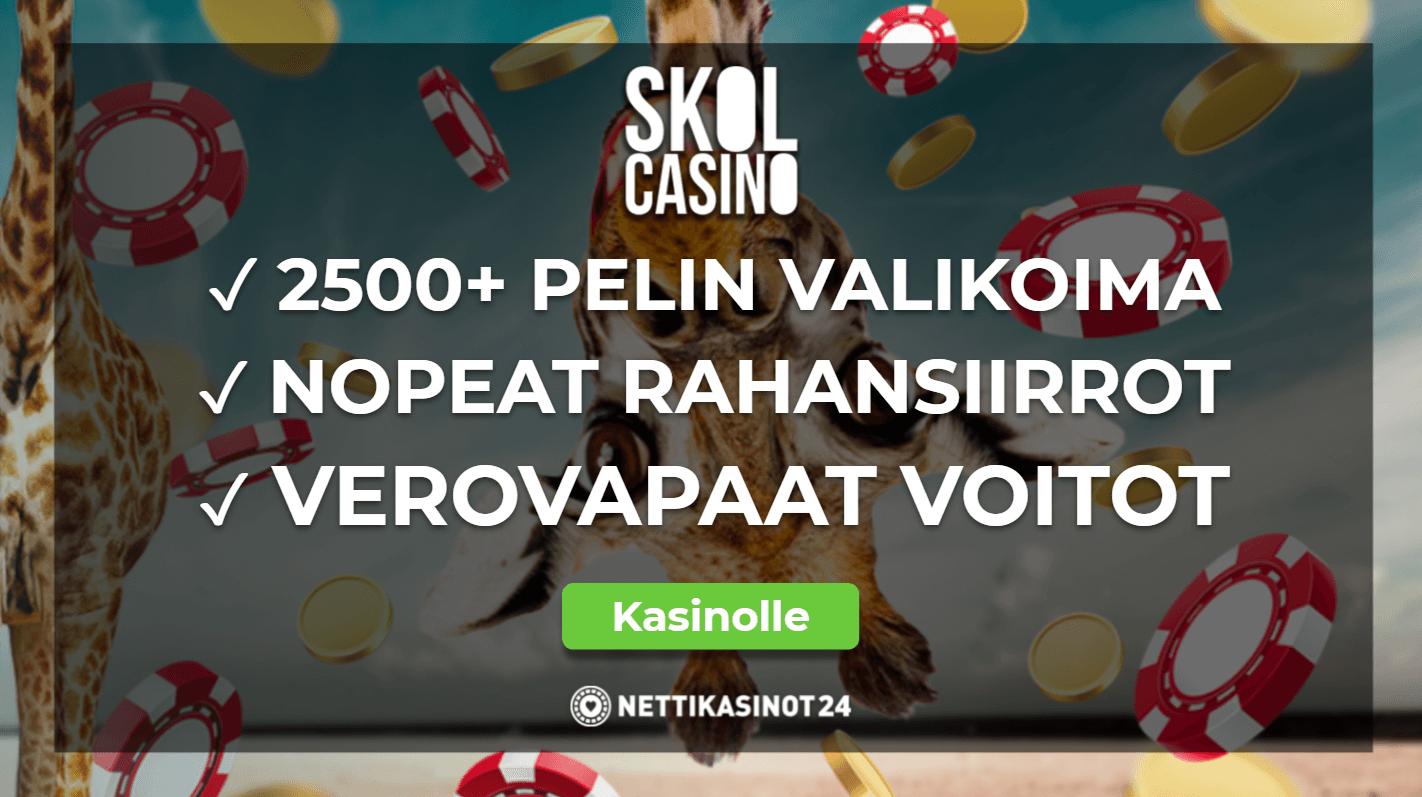 skolcasino arvostelu - Skol Casino