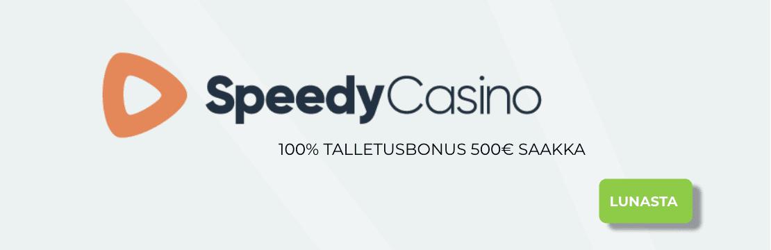 speedy casino bonukset