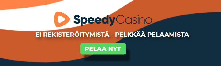 speedy casino pelkkää pelaamista - Speedy Casino