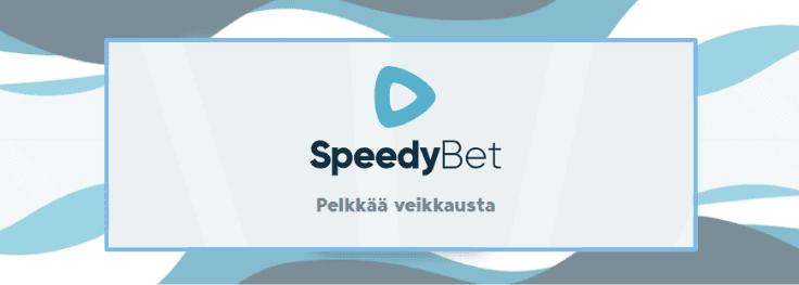 speedybet pelkkää veikkausta - Veikkaa tiesi voittoihin SpeedyBetillä
