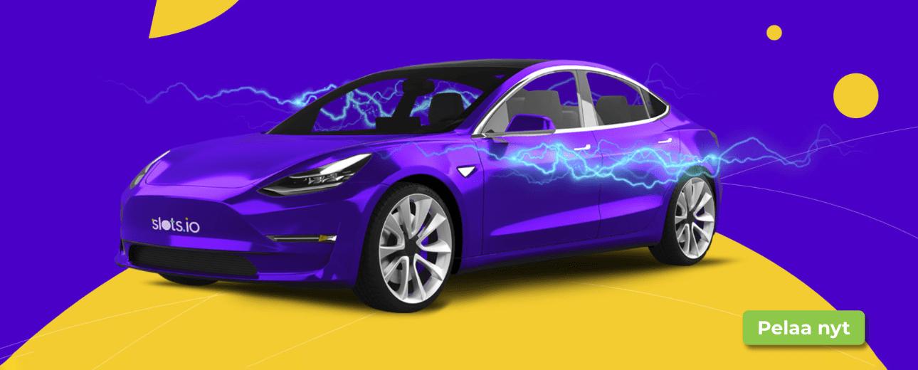 voita tesla - Vielä ehdit osallistua Teslan arvontaan!