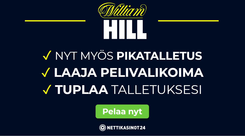William Hill on uudistunut!