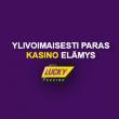 Netin ehkä paras kasino elämys löytyy Lucky Casinolta