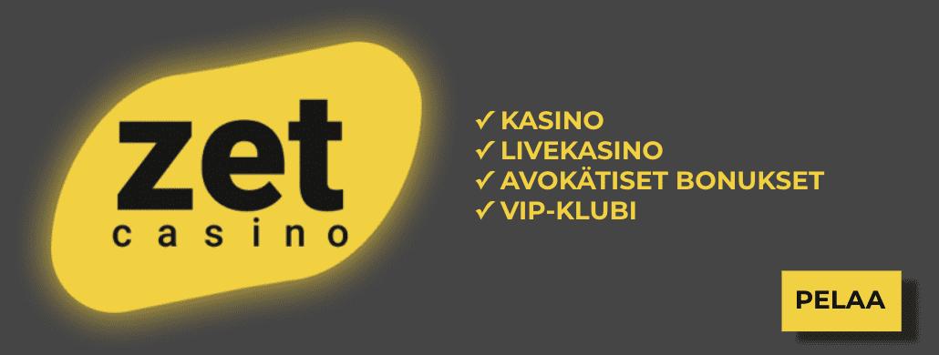 zet casino pelivalikoima - ZetCasino
